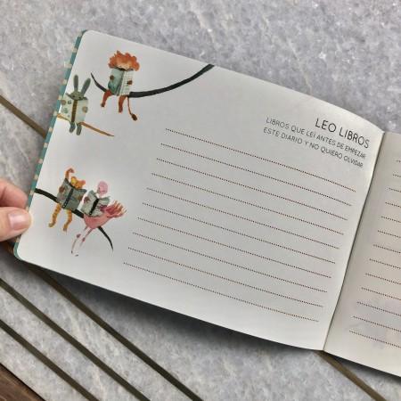Cuaderno Leo Libros
