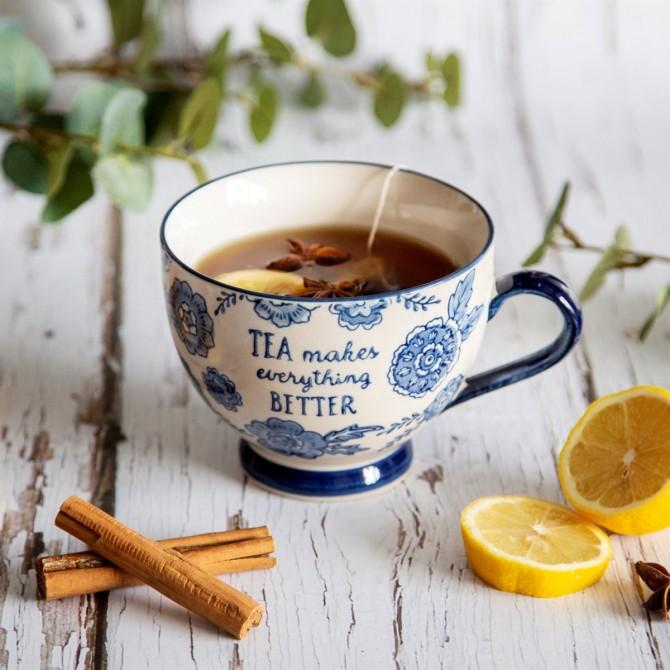 Taza de té makes everything better
