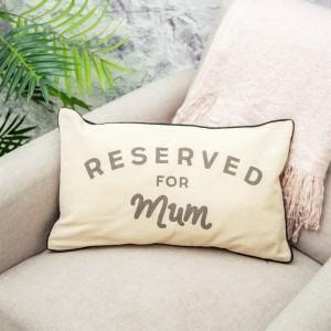 Cojín reservado para mamá