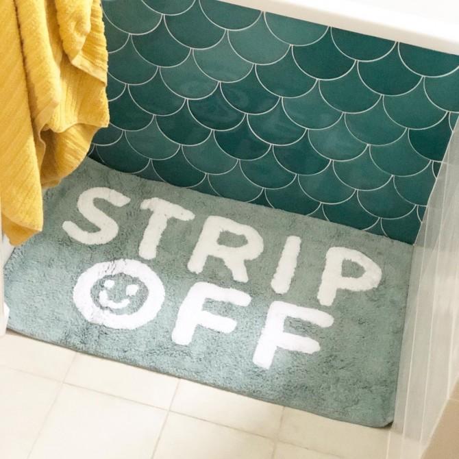 Alfombrilla de baño STRIP OFF