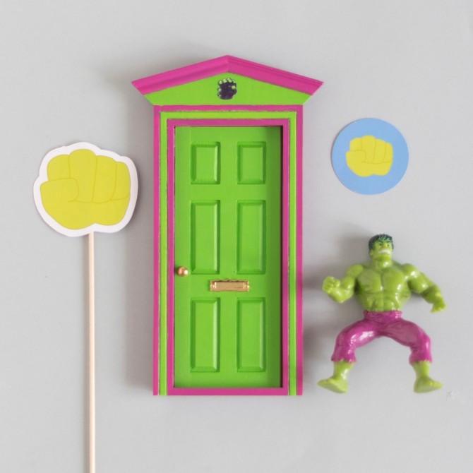 Puerta Ratoncito Hulk