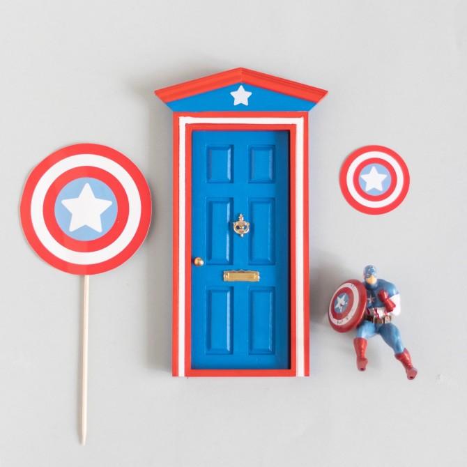 Puerta Ratoncito Capitán América
