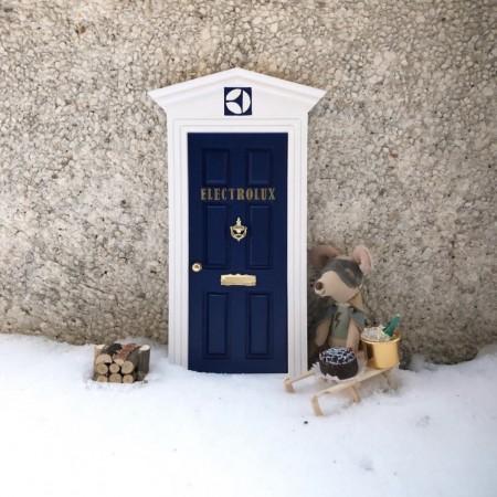 Puerta del ratoncito Pérez para Electrolux