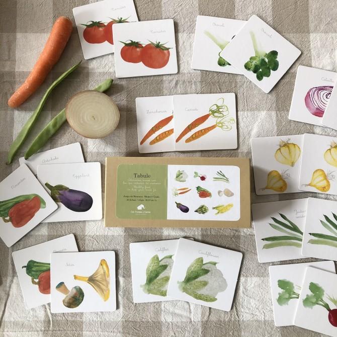 Memory verduras